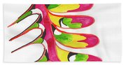 Back Bone Beach Towel