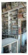 Back In 5 - The General Store, Bodie Ghost Town Beach Towel