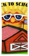 Back To School Beach Towel