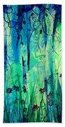 Backyard Dreamer Beach Towel by Rachel Christine Nowicki