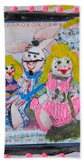 Bad Bunnies Beach Towel