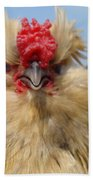 Bad Tempered Bearded Bantam Beach Towel