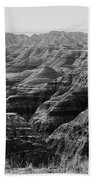 Badlands Of South Dakota #2 Beach Towel