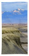 Badlands Of Utah Beach Towel