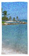 Bahamas II Beach Towel