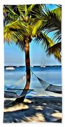 Bahamas Vacation Beach Towel