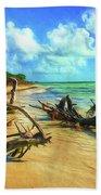 Bahia Honda State Park Beach Towel