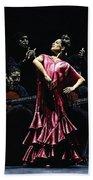 Bailarina Orgullosa Del Flamenco Beach Towel