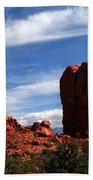 Balanced Rock Arches National Park, Moab, Utah Beach Towel