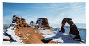 Delicate Arch Wide Beach Towel