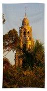 Balboa Park Bell Tower Orig. Beach Towel