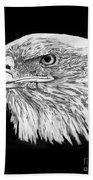 Bald Eagle #4 Beach Sheet