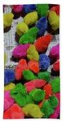 Bali Coloured Chicks Beach Towel