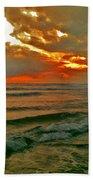 Bali Evening Sky Beach Towel