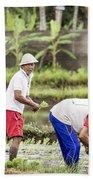 Bali Farming Beach Towel