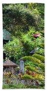 Bali Gardens Beach Towel