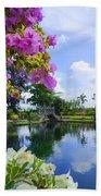 Bali Reflections Beach Towel