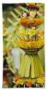 Balinese Ceremony Beach Towel