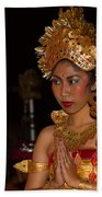 Balinese Dancer Beach Towel