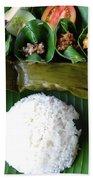 Balinese Traditional Lunch Beach Sheet