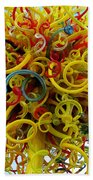 Ball Of Chihuly Glass Beach Towel