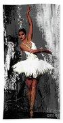 Ballerina Dance 073 Beach Towel