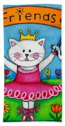 Ballerina Friends Beach Towel
