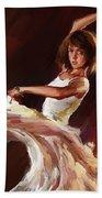Ballet Dance 0706  Beach Towel