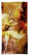 Ballet Dance 3390 Beach Towel