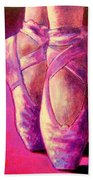 Ballet Shoes  II Beach Towel