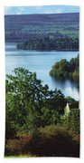 Ballindoon Abbey, Lough Arrow, County Beach Towel