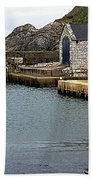 Ballintoy Quayside Beach Towel