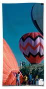 Ballon Launch Beach Towel
