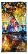 Balloon Festival Beach Towel
