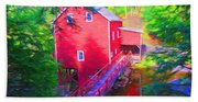 Balmoral Grist Mill Museum Beach Towel