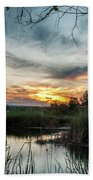 Balmorhea Sunset Beach Towel