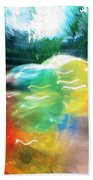 Baloons N Lights Beach Towel