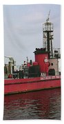 Baltimore Fire Boat 2003 Beach Towel