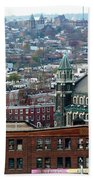Baltimore Rooftops Beach Towel