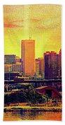 Baltimore Sunrise Beach Towel