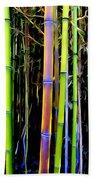 Bamboo Dreams #14 Beach Towel