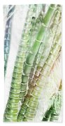 Bamboo Forest Watercolor Beach Towel