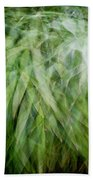 Bamboo In The Wind Beach Towel