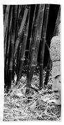Bamboo Landscape  Statue Asian  Beach Towel