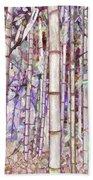 Bamboo Texture Beach Towel