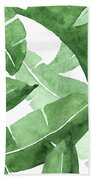 Banana Leaves  3 Beach Towel