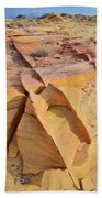 Band Of Gold In Valley Of Fire Beach Towel