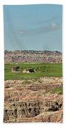 Badlands Panorama Beach Towel