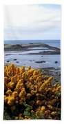 Bandon Harbor Entrance Beach Towel