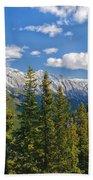 Banff Gondola Beach Towel